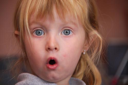 Surprised Nora