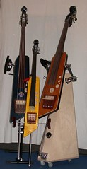 B.Genius Cello with his Big B.Genius 2 brothers by Vogel Guitar Concepts