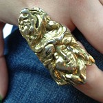 female victorian portrait ring from tag sale in Woodbury
