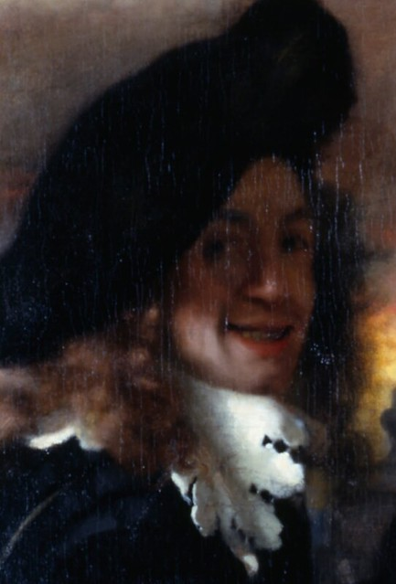 v jan johannes vermeer the procuress 1656
