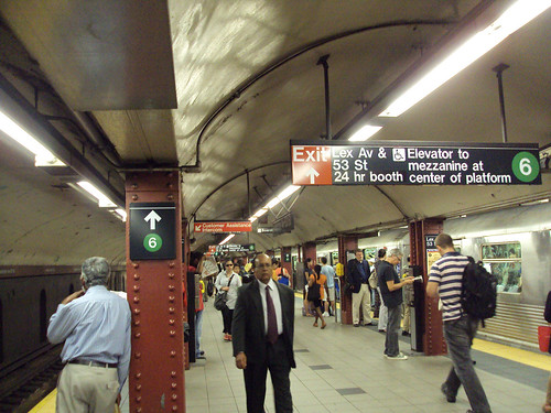 NYC subway (by: