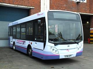 First Lowestoft 45117 ST58JPT (c) Grahame Bessey