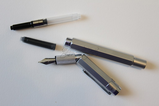 Levenger L-Tech Fountain Pen Parts
