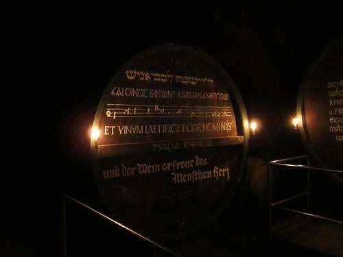 Giant Barrel with Inscription at Schloss Johannisberg