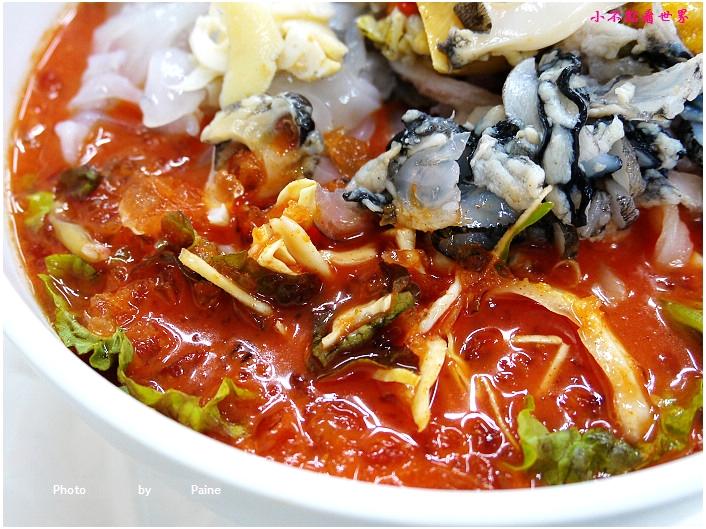 束草봉포머구리집  綜合海鮮涼麵