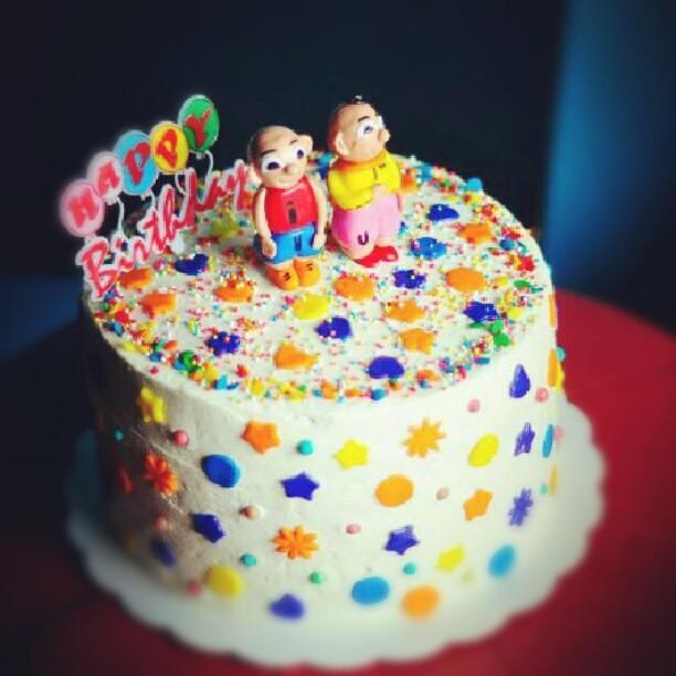 upin ipin cake Flickr - Photo Sharing!