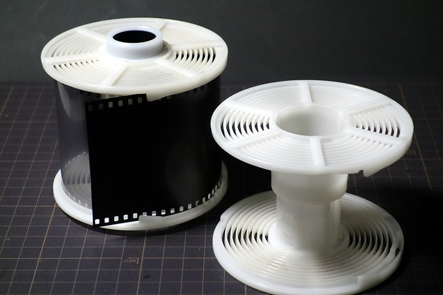 development of 70mm film