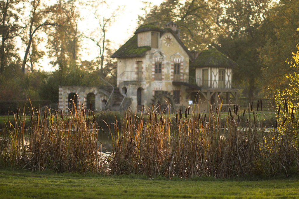 The Hamlet in La Domaine de Marie Antoinette at Versailles in Autumn 9