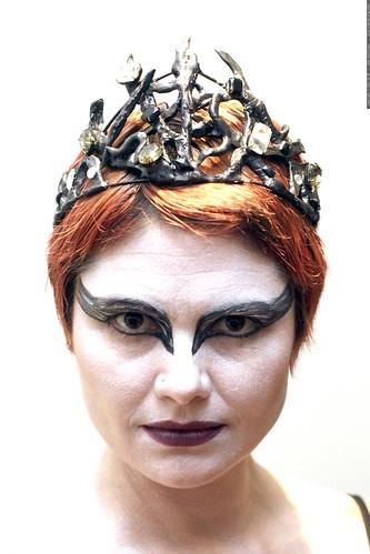 rachel as nina sayers, the swan queen from black swan