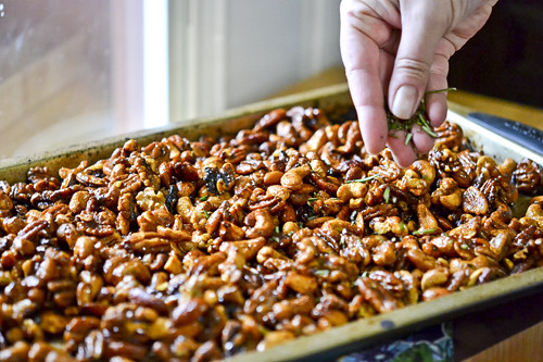 Chipotle & Rosemary Roasted Nuts 11