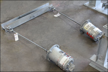 Variable Spring Hanger and Structural Steel Assembly