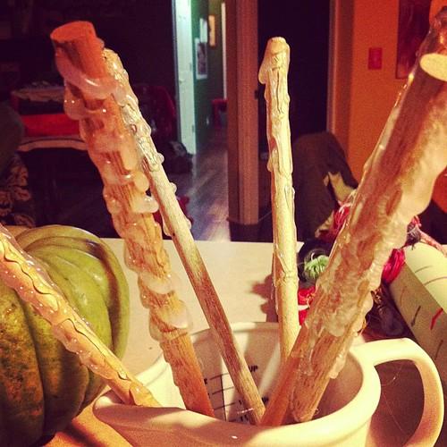 Makin wands!!