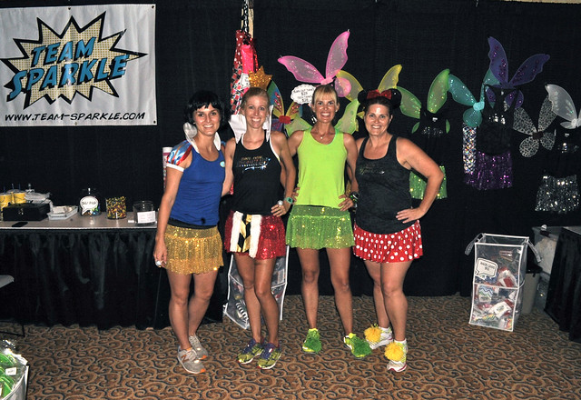 Team Sparkle at Disneyland Half Marathon Expo