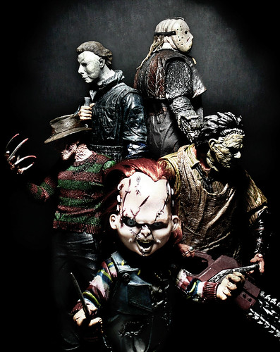 Freddy Vs Jason Vs Chucky Vs Michael Myers Vs Pinhead Flickriver: Jov...