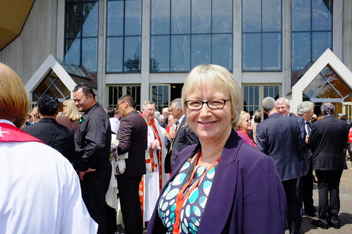 The ACC is the only Instrument of Communion that includes lay representatives. Pictured is Wales' Helen Biggin.