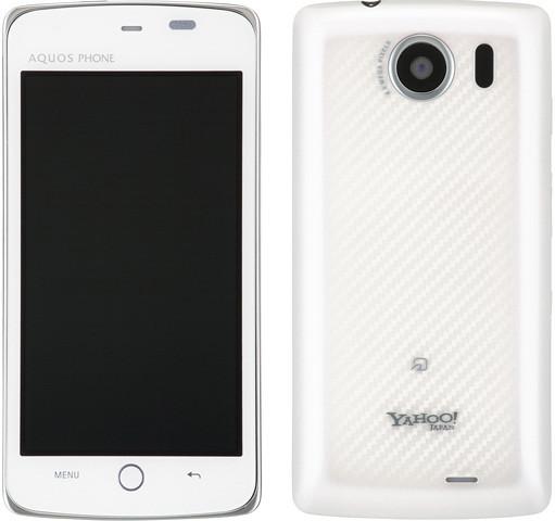 Yahoo! Phone 009SH Y 実物大の製品画像