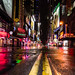 Deserted Times Square During Hurricane Sandy by Paul Katcher