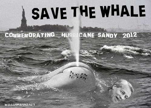 SANDY 2012: SAVE THE WHALE by Colonel Flick