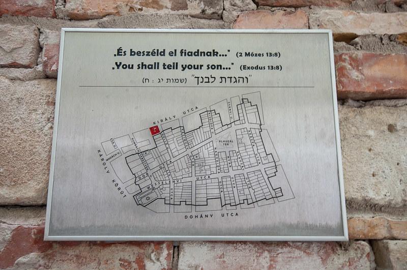 Visita a una corrala del barrio judío de Budapest