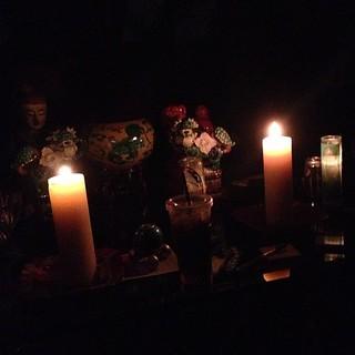 Last night. #hurricanesandy #lighting