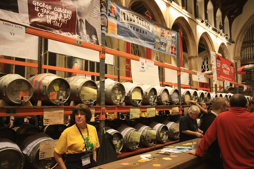 35th Norwich Beer Festival, St Andrew's Hall, Norwich. October 29th 2012