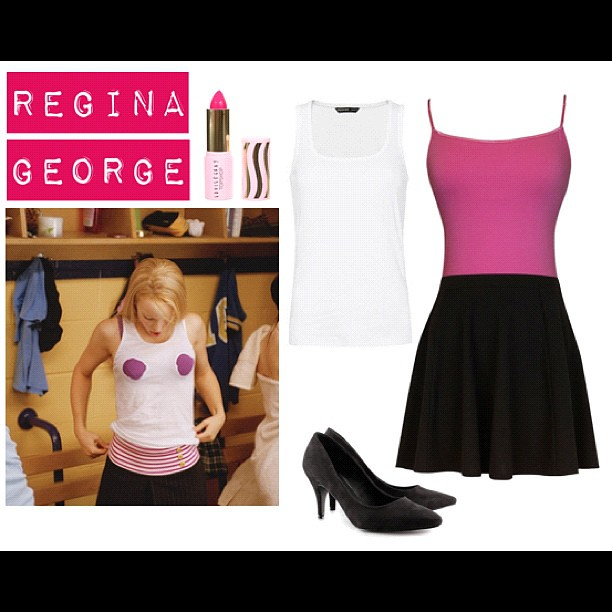 Omg, can I be Regina George for Halloween??