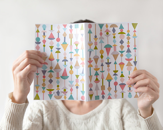 Shapes notebook by Depeapa