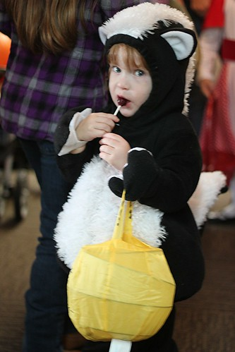 skunk and the lollipop