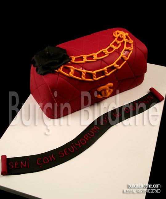 Bordo Chanel Pasta