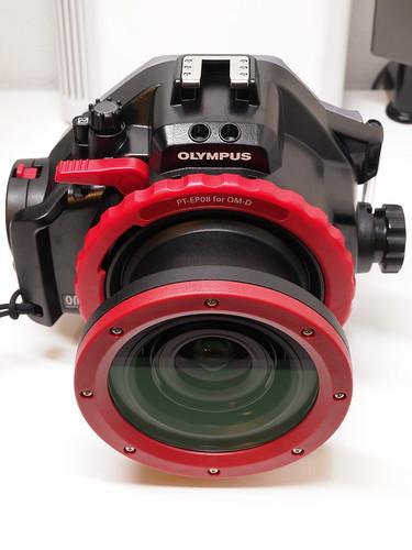 OLYMPUS PT-EP08 + PRO-EP01
