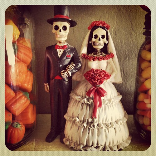 Day of the Dead Bride and Groom by ceck0face