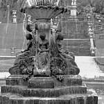 The fountain in Avenham Park Preston