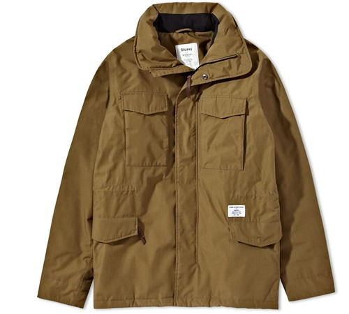 Stussy vs Holden M65 field jacket