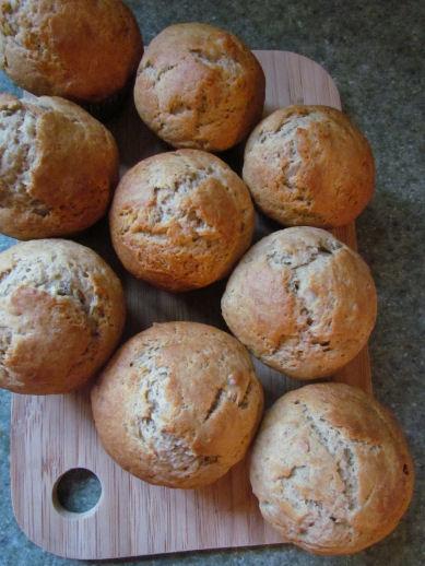 Simple Banana Muffins