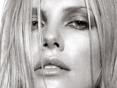 Charlize vulnerable in this black&white-says Hello How are YOU Love 28 MAY 2012