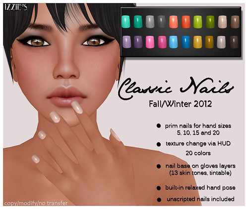 Classic Nails (Fall/Winter Colors 2012)