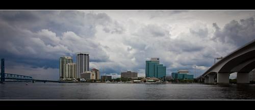 skyline downtown cityscape southbank jacksonville fl jax stjohnsriver ef1740mmf4lusm canonrebelt2i rivercitybythesea