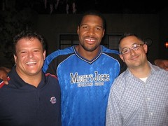 Kirk, Michael Strahan, Chris Erb
