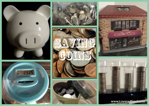 Saving Coins www.LayeredSoul.com