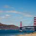 Golden gate - Californie, USA by Clotylde