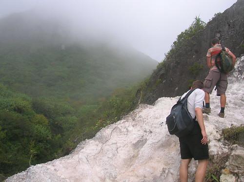 Climbing Gunung Sibayak