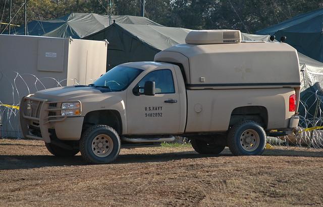 US Navy Light Service Support Vehicle (LSSV) Pickup ...