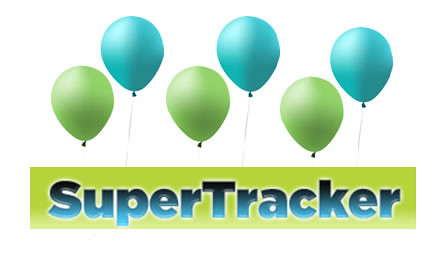 SuperTracker turned one on December 22, 2012. In one year over 1.6 million people have registered to use SuperTracker.