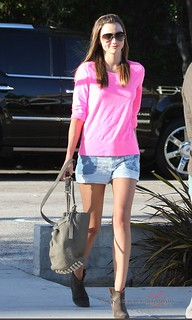 Miranda Kerr Ankle Boots Celebrity Style Women's Fashion