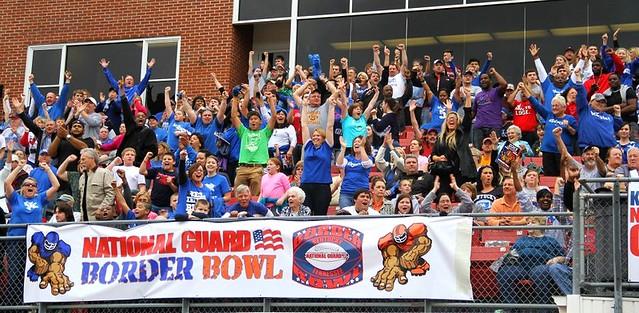 Border Bowl fans