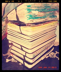 my moleskine tower this isnt all of them lol