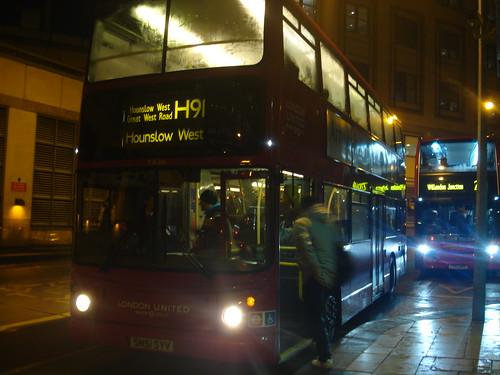 Route H91 London United TA216