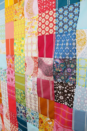 volie patchwork quilt top