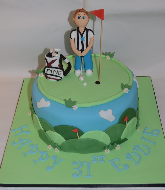 Cake Decorating Golf Figures : Golf cake bag cake topper figure decoration Flickr ...