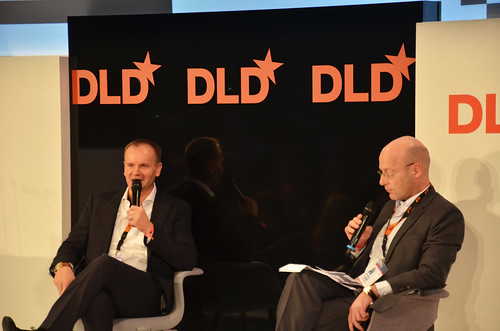 "DLD13 conference Munich - ""patterns that connect"" - Germany January 20-22, 2013"